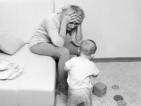 Депрессия первого года жизни ребенка: что это и как с этим справиться