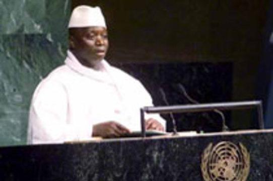 Президент Гамбии [лечит СПИД за три дня]