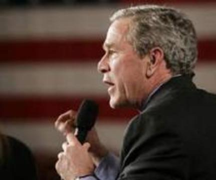 Буш наложит вето на любой закон, облегчающий работу со стволовыми клетками