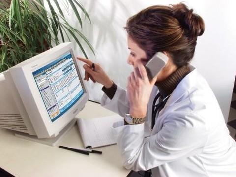 Московские врачи начнут [прием пациентов по телефону]