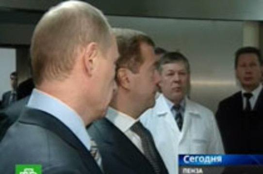 Медведев пообещал российским врачам [стажировку за рубежом]