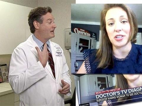 Доктор поставил диагноз рака женщине, увидев ее в телешоу