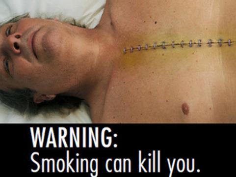 В США выбрали [устрашающие изображения для сигаретных пачек]