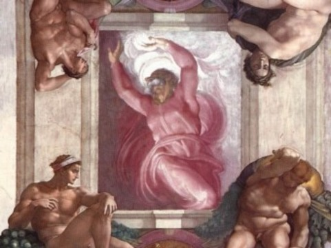 [Нейрохирург разглядел мозг] на фреске Микеланджело