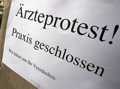 В Германии [забастовали частнопрактикующие врачи]