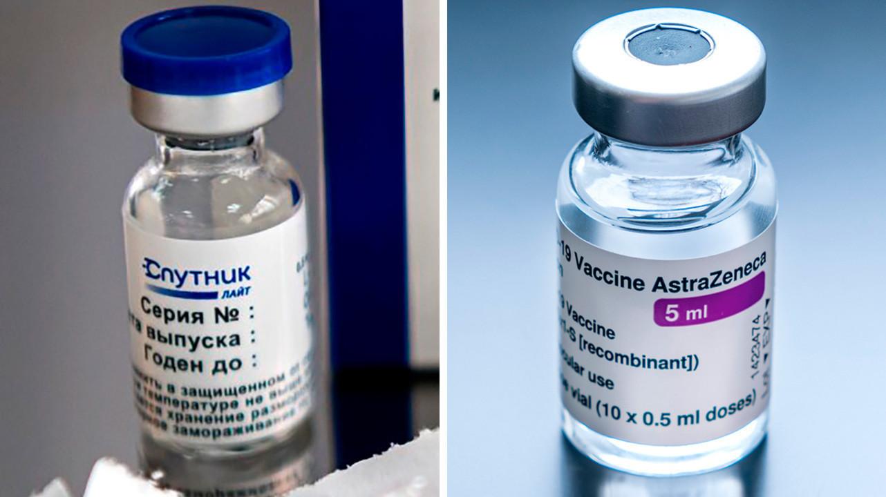 В России одобрили совместные клинические испытания вакцин «Спутник Лайт» и AstraZeneca
