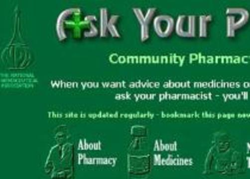 Английские аптекари создают собственный портал