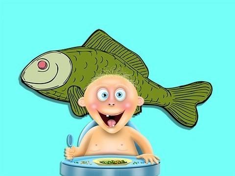 Ученые показали необходимость рыбных блюд в диете малышей