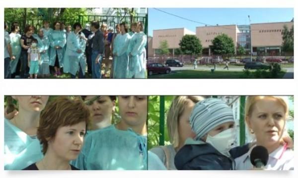 Врачи и родители пациентов в РДКБ [возобновили бессрочную голодовку]