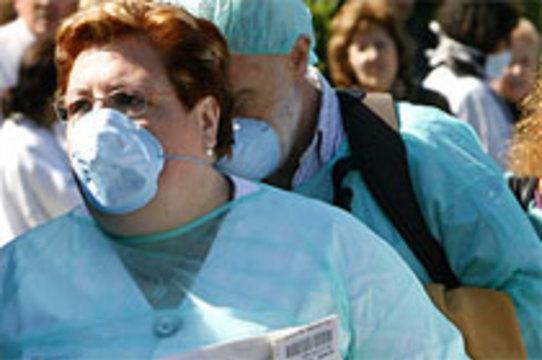 Число заболевших свиным гриппом в США [удвоилось]