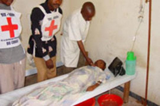 На юго-востоке Конго бушует [эпидемия холеры]