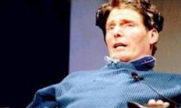 Супермен атакует президента Буша