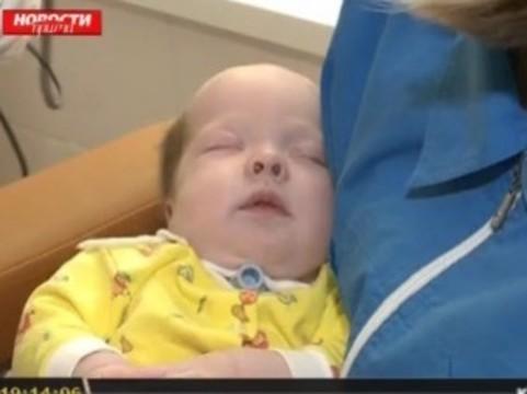 [Красноярские хирурги] восстановили носовые ходы двухмесячной девочке