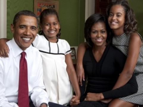 Семья президента США [получила прививки против гриппа H1N1]