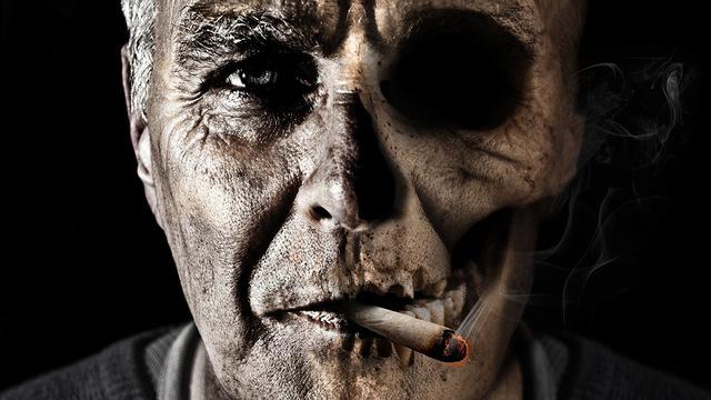Курение в три раза увеличивает риск кровоизлияния в мозг