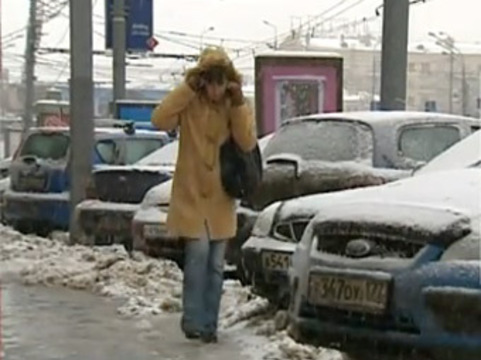 За трое суток [от гололеда пострадали 442 москвича]