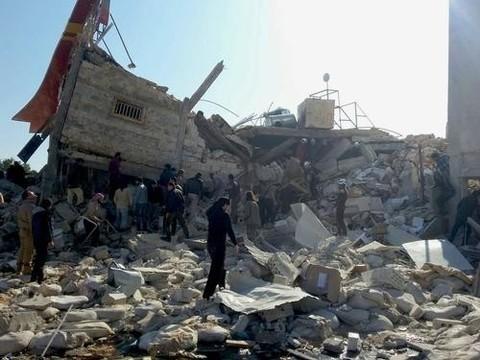 В Сирии разрушен госпиталь «Врачей без границ»