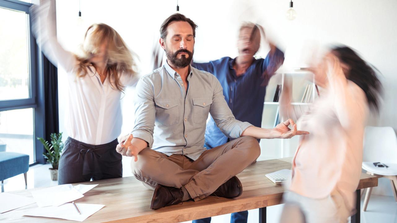 Занятия медитацией снижают уровень «гормона стресса» на 25%