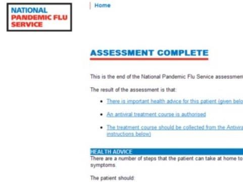 Британский сайт о гриппе H1N1 не выдержал [наплыва посетителей]