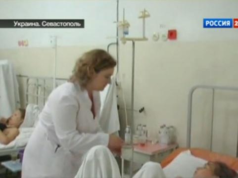 Отравившихся в Севастополе российских детей [отправят домой в пятницу]