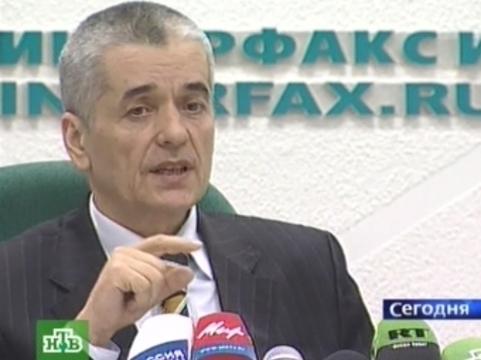 """Онищенко пообещал [""""вразумить"""" медицинские власти Таджикистана]"""