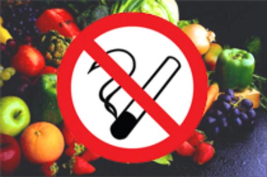 Фрукты и овощи повышают риск рака кишечника [у курильщиков]