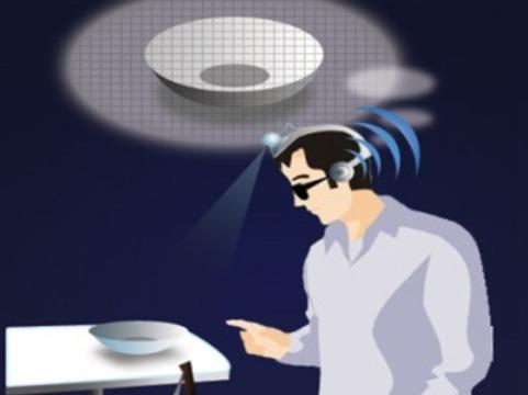 Слепых пациентов научили [видеть с помощью слуха]