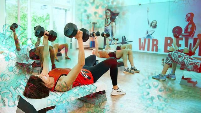 Интенсивные занятия спортом в помещении увеличивает риск заражения COVID-19 - исследование