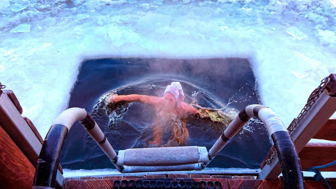 Сауна и ледяная вода могут сделать сверхчеловеком?