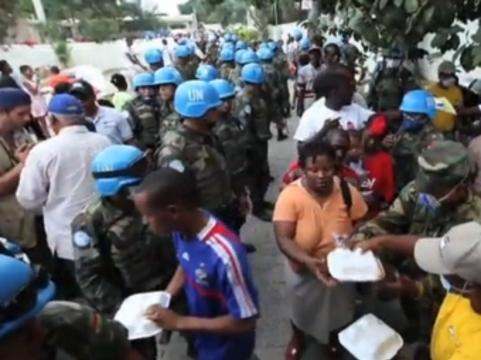 Французский эксперт обвинил миротворцев ООН [в распространении холеры на Гаити]