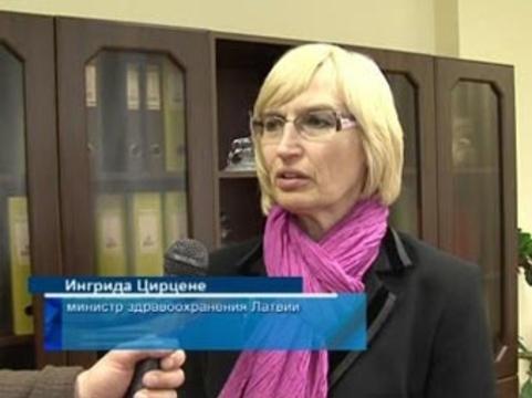 Латвийский Минздрав [призвал врачей не вредить пациентам забастовками]