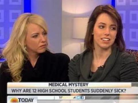 Необъяснимое заболевание школьниц из США [назвали массовой истерией]