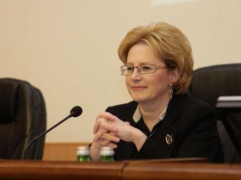 Скворцова пообещала решить проблемы соказанием медпомощи вМоскве